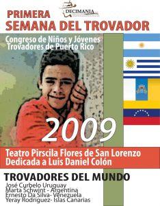 Semana del Trovador 2009